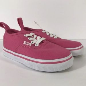 Vans Authentic Elastic Hot Pink Sneakers